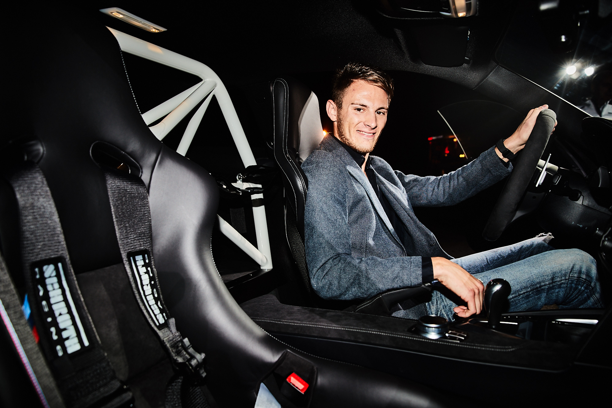 Marco Wittmann in the BMW M4 DTM Champion Edition