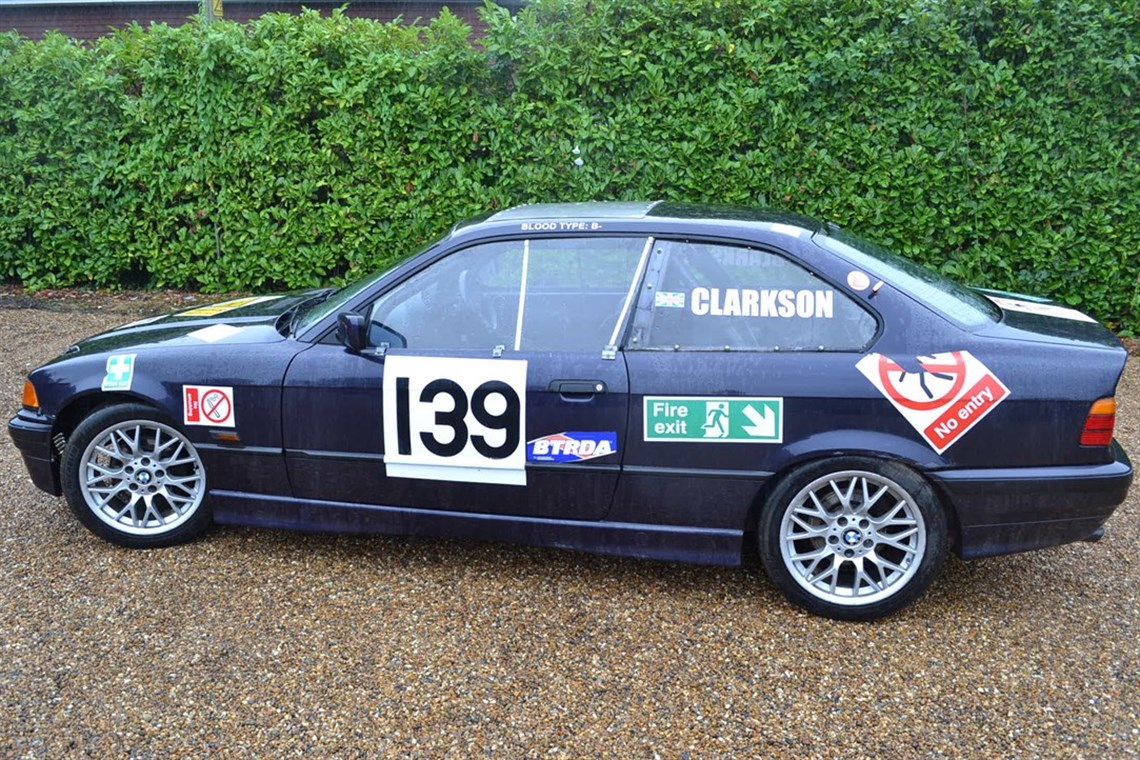 jeremy clarkson s rallycross bmw up for grabs. Black Bedroom Furniture Sets. Home Design Ideas